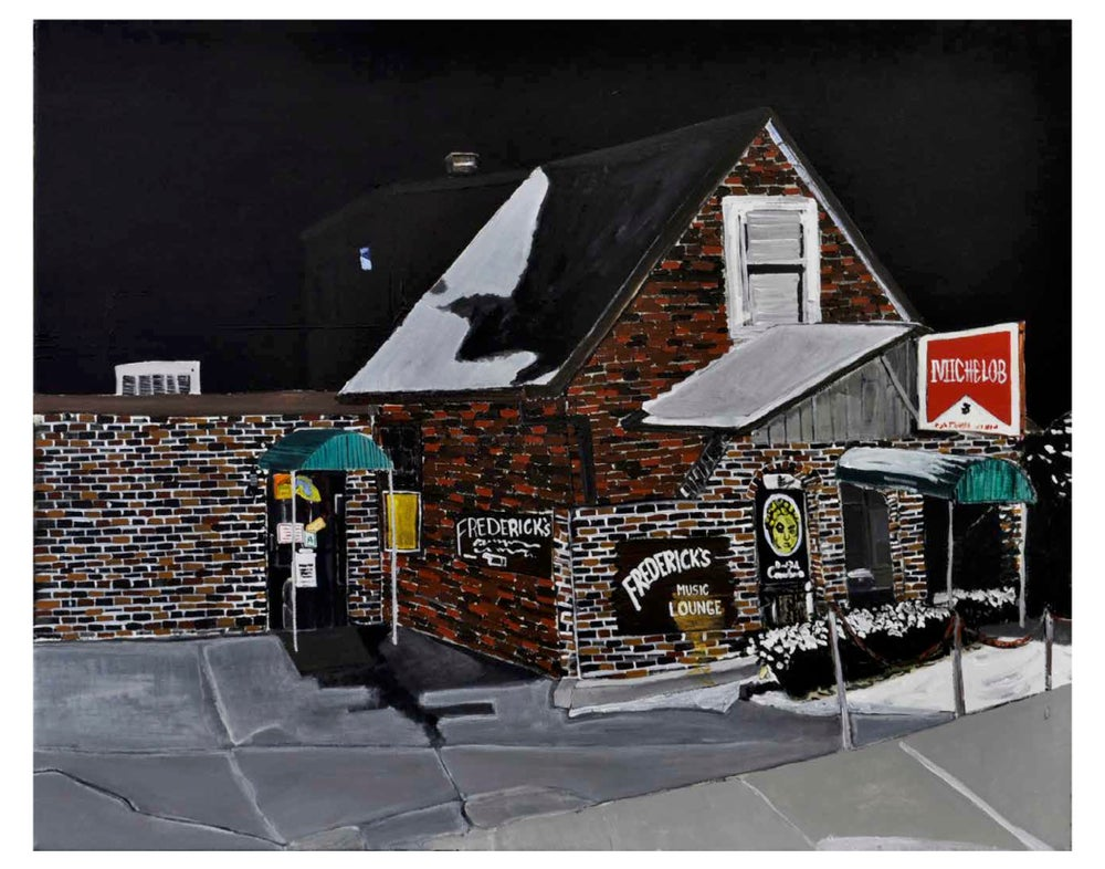 Image of Frederick's Music Lounge 11x14 inch print