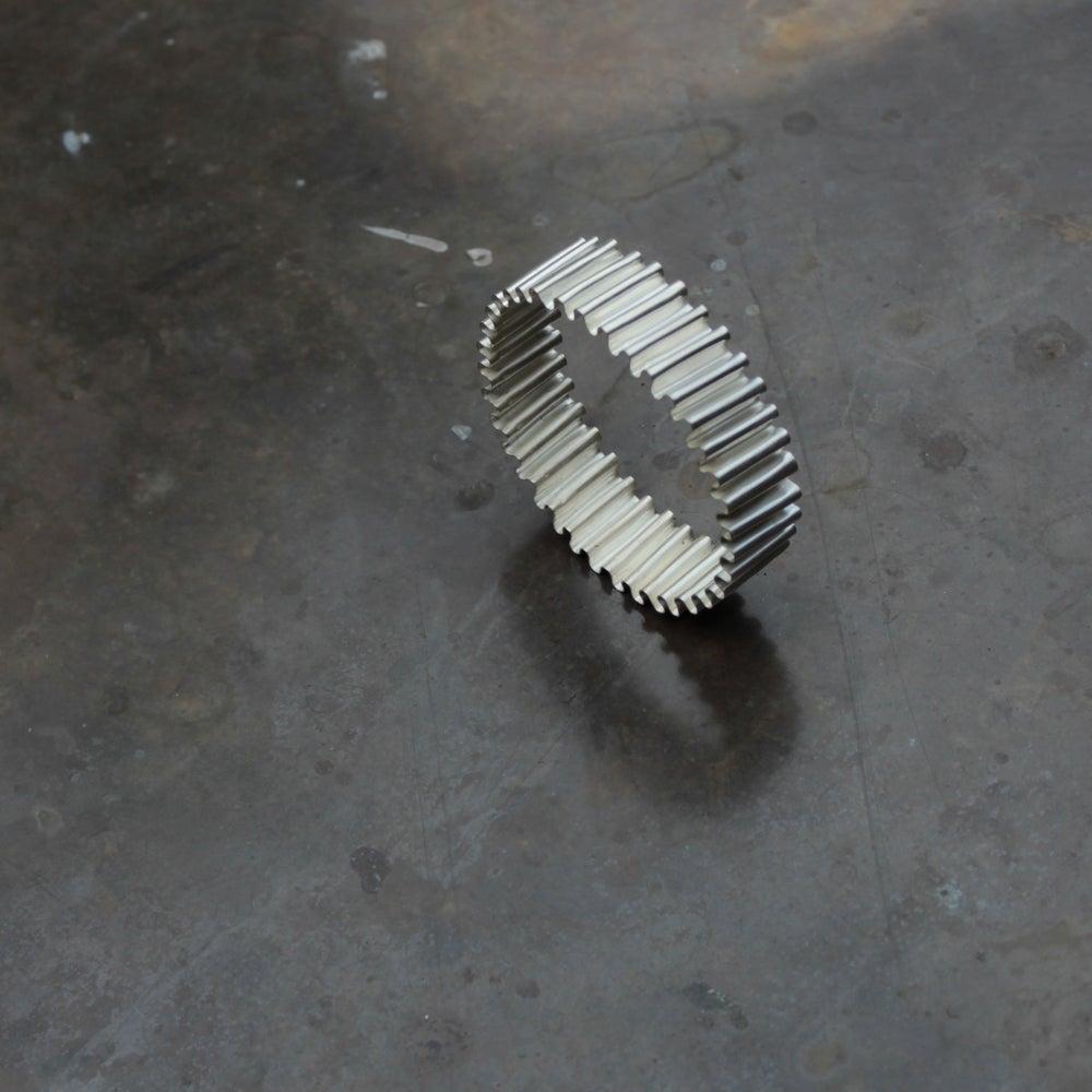 Image of Crinkled Cardboard Bracelets