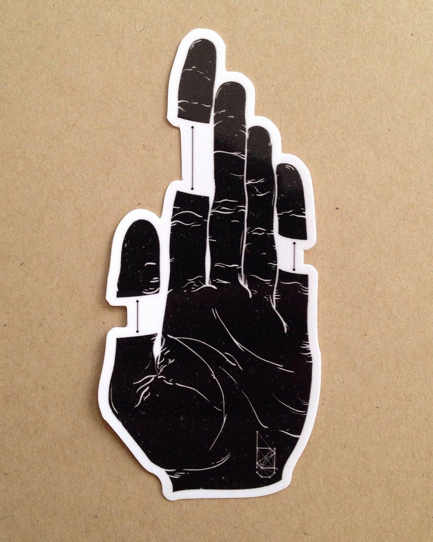 Image of Sticker - Digression :: Diversion