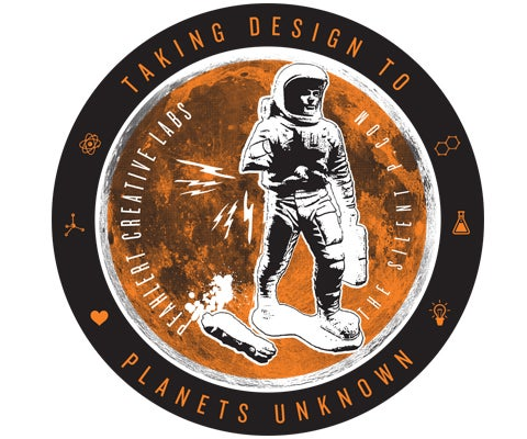 "Image of ""Planets Unknown"" Vinyl Sticker"