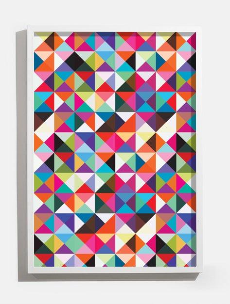 Image of adidas Originals ZX Flux Multi Prism pattern print