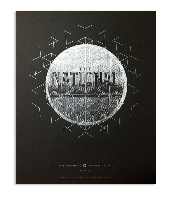 Image of The National, Fillmore, Charlotte