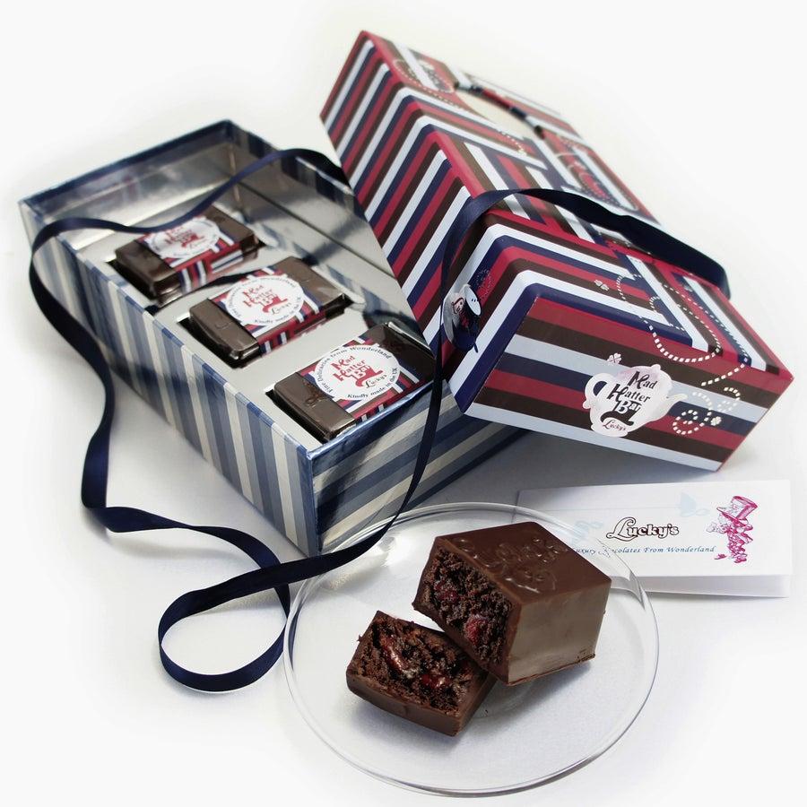 Image of Mad Hatter Bar 'Luxury Milk Chocolate Gift Box'