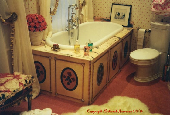 Image of Item No. 227. Rose Bathroom Design.