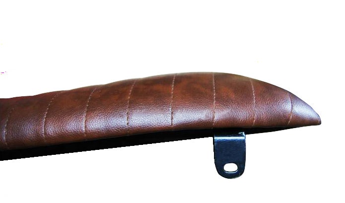 Image of Cafe Racer Flat Seat - Long Thin Pad