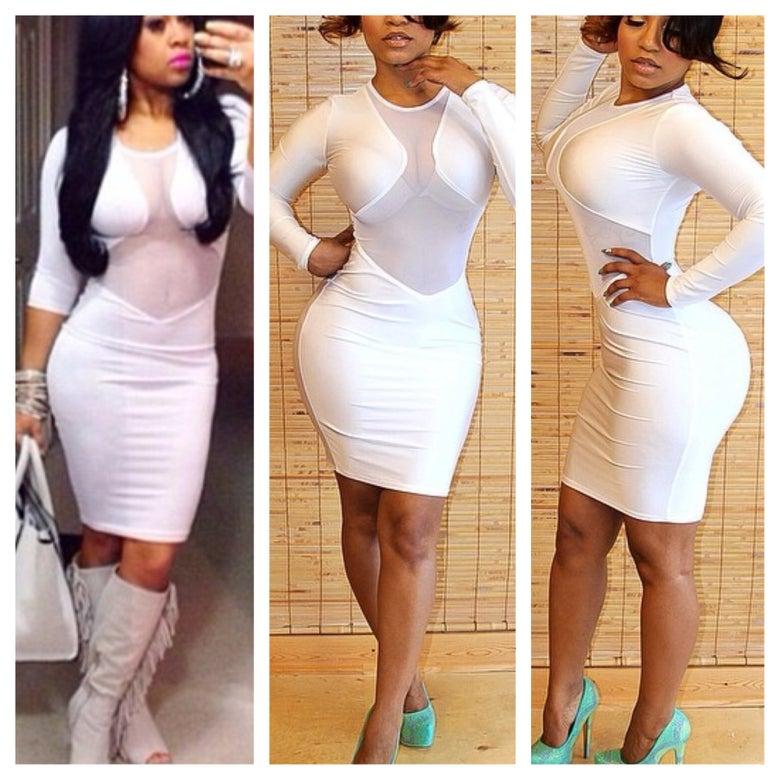 Image of All White Affair Dress