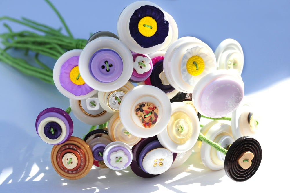 Image of Button Bouquet (20)