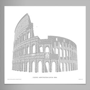 "Colosseo 24""x16"" Signed Poster (Pearl)"