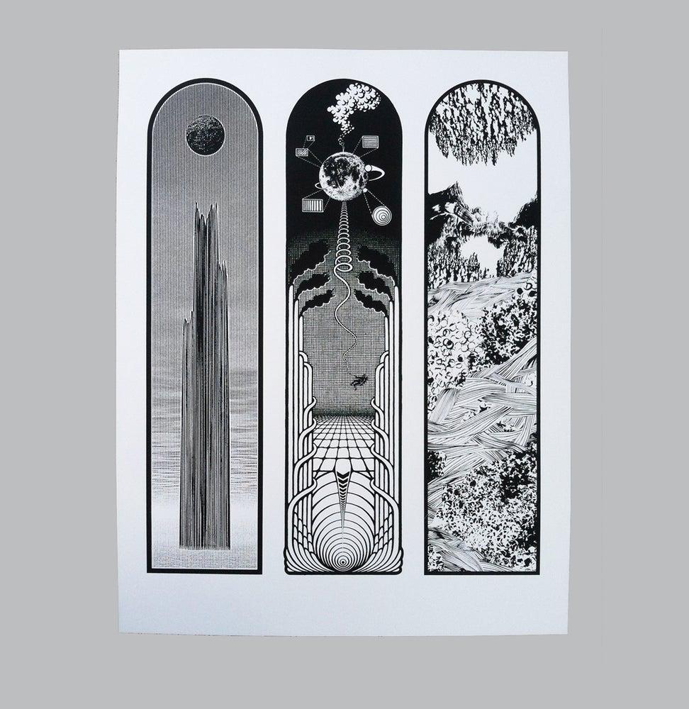 Image of EÉL OÜY Triptych