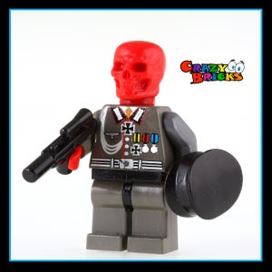 Image of RED Skull - NEW