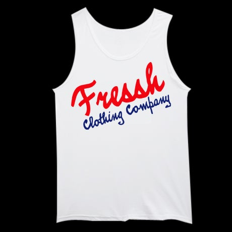 "Image of ""The Company"" White Tank Top"