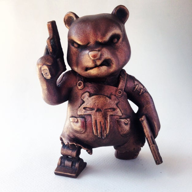 Image of The Mega Bear Statuette