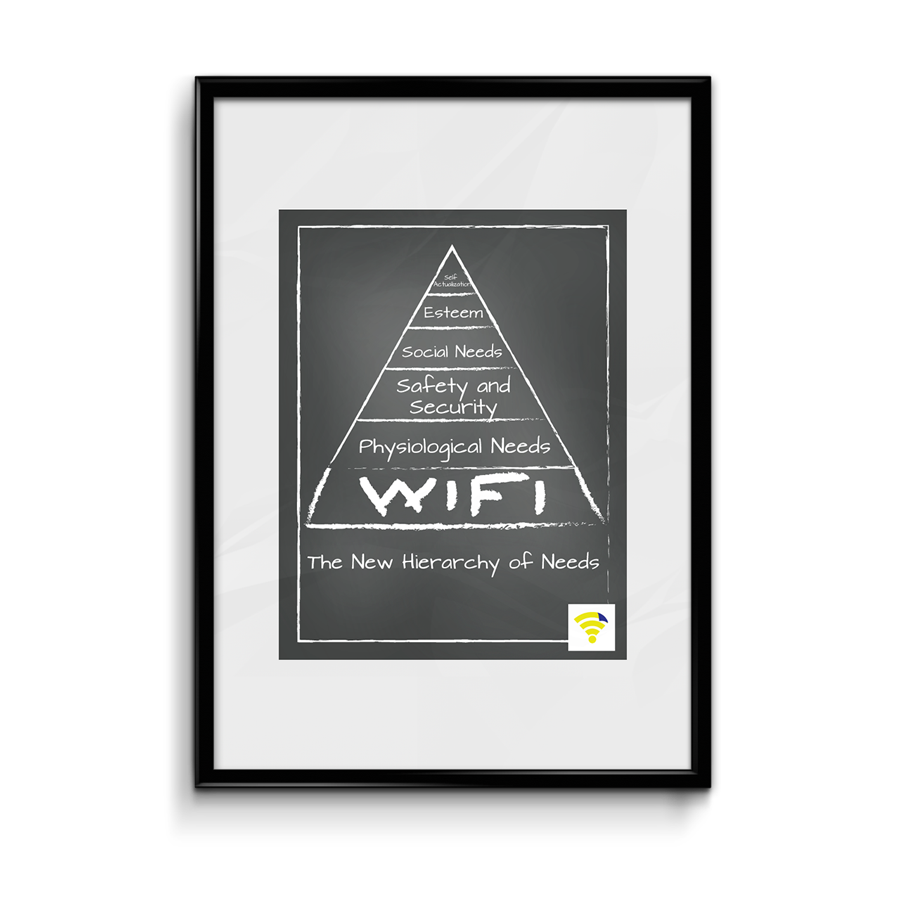 Image of The New Hierarchy of Needs WiFlyr