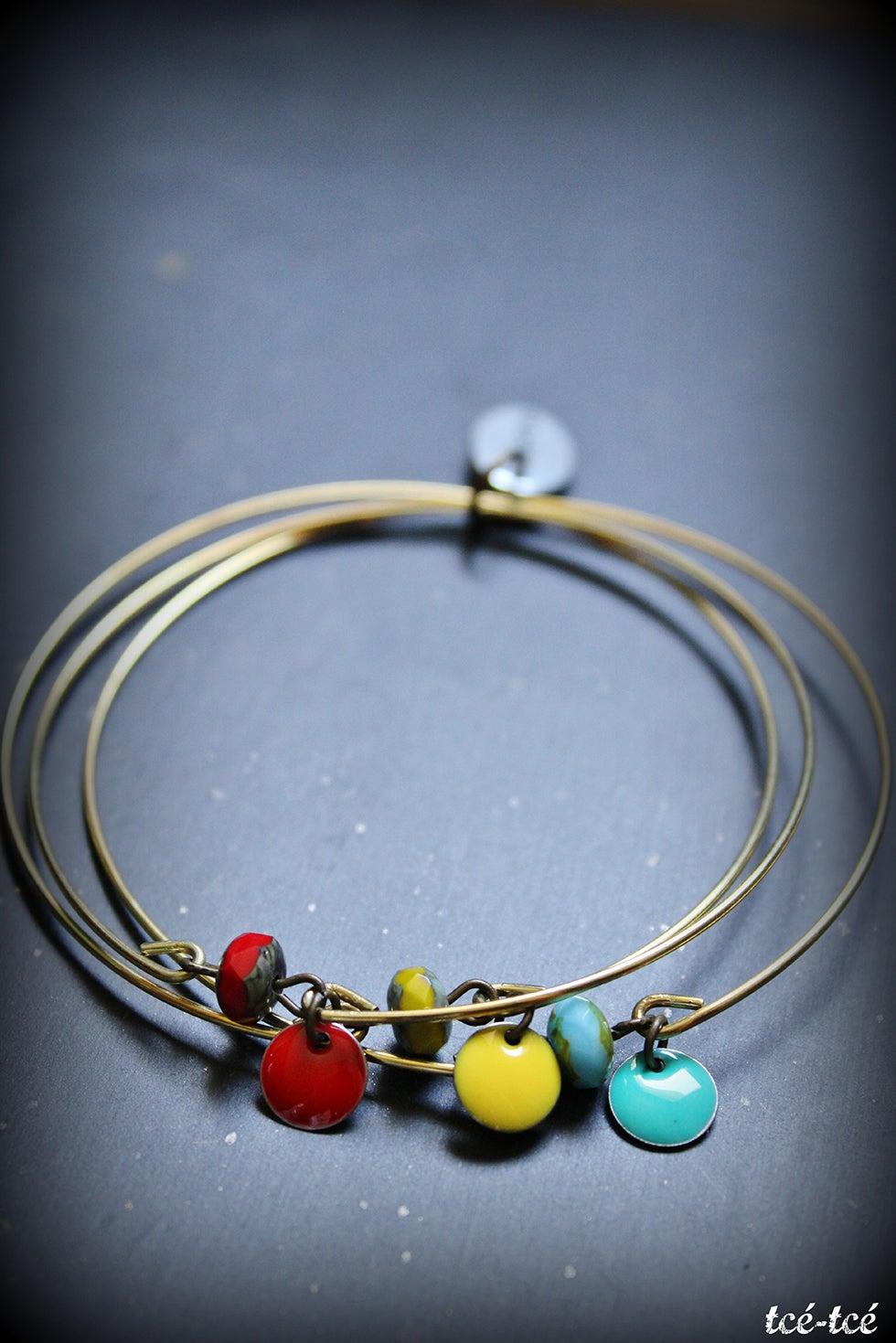 "Image of bracelet ""Les jongleurs"""