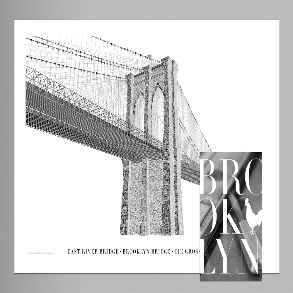 Image of Brooklyn Bridge Poster + Booklet