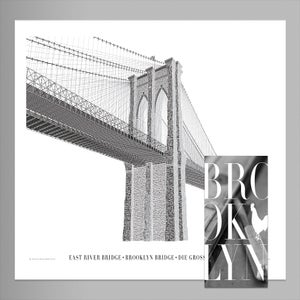 Brooklyn Bridge Poster + Booklet