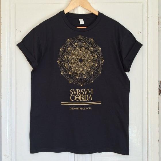 Image of Camiseta GEOMETRÍA SACRA. SERIGRAFIA ARTESANAL