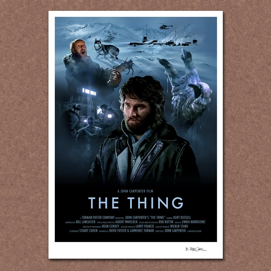 It Movie Full Movie >> Candykiller — The Thing Poster