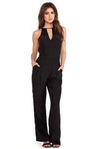 Image of   Parker-samira silk jumpsuit