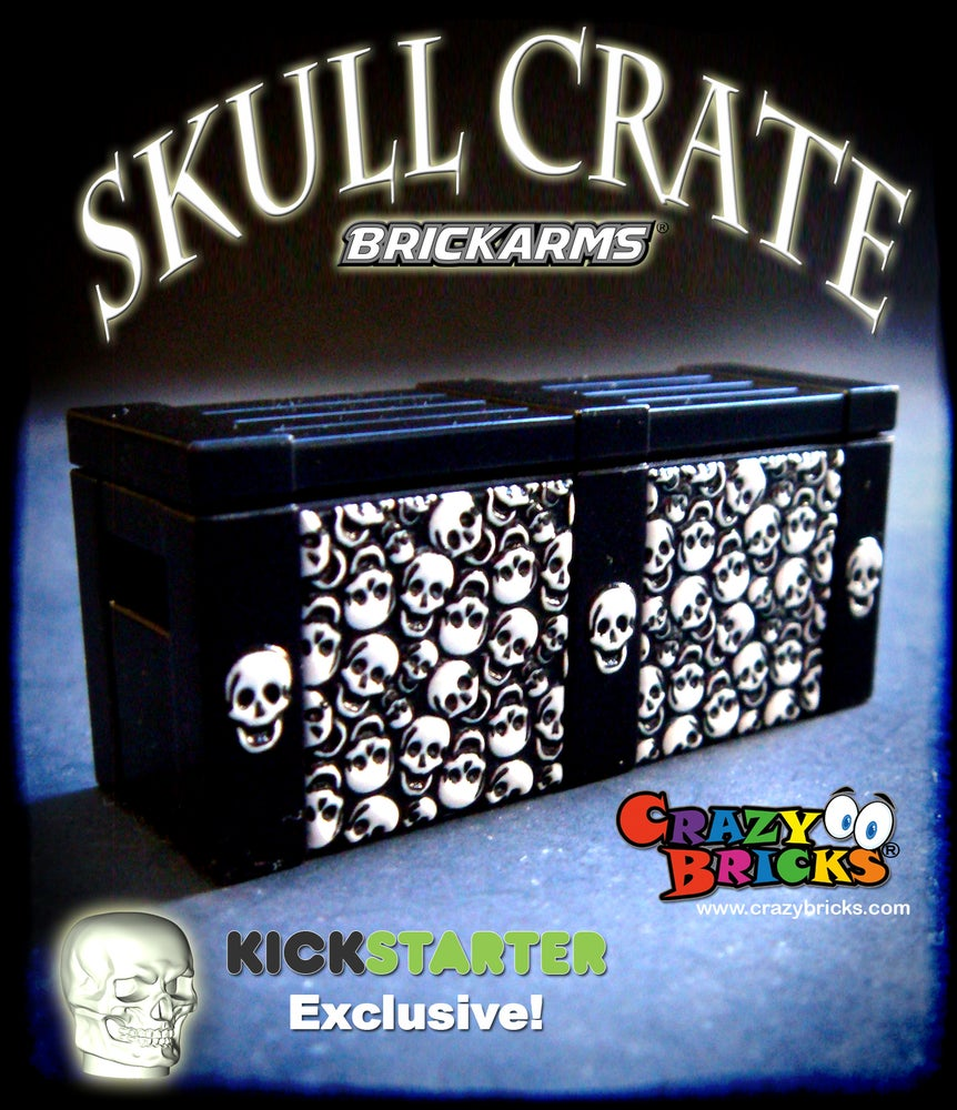 Image of EXCLUSIVE SKULLS Crate by BrickArms SOLD OUT