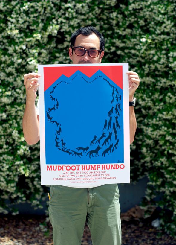 Image of Mudfoot Hump Hundo Poster