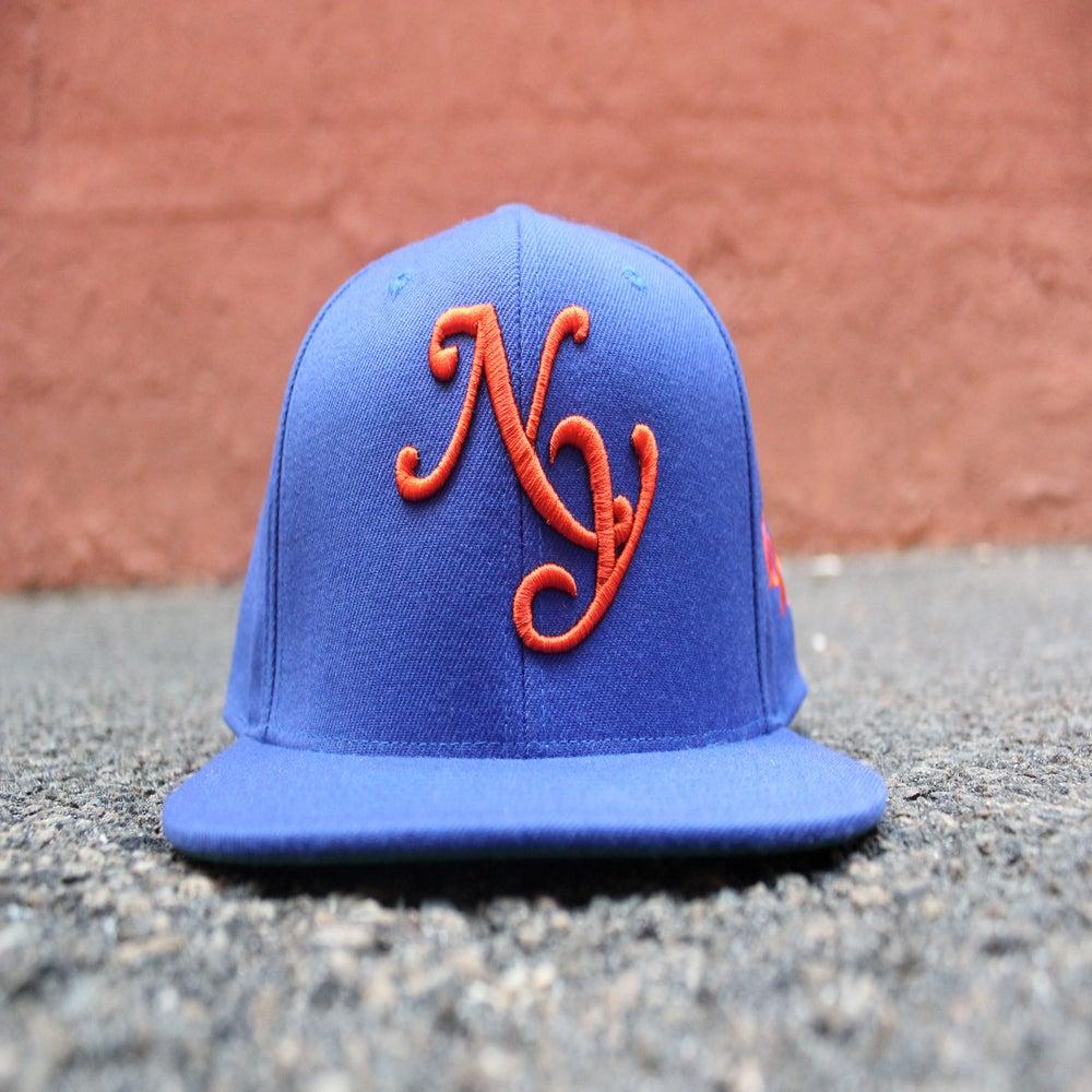 """Image of Blue x Orange """"NY"""" SnapBack"""