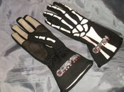 Image of Driven Skeleton Nomex Racing Gloves