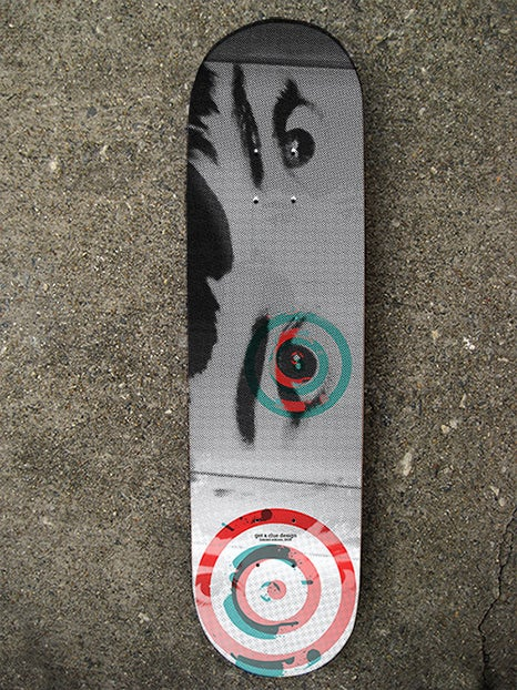 "Image of The ""Audrey"" Limited Edition Skate Deck"
