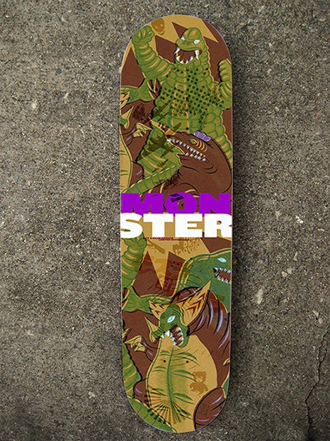 "Image of The ""Monster"" Limited Edition Skate Deck"