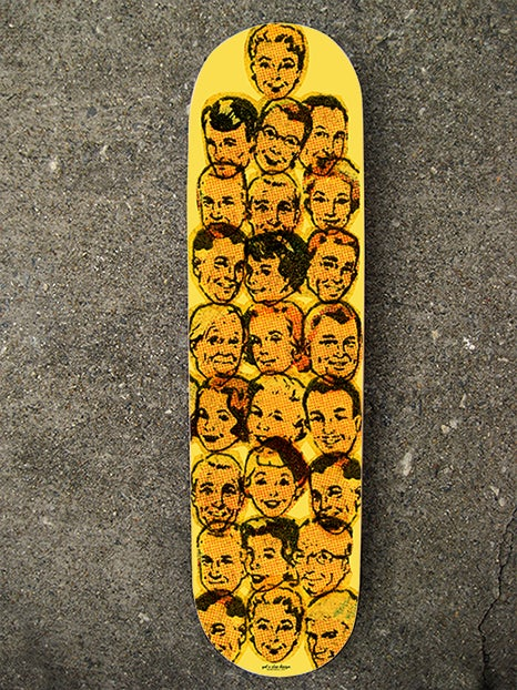 """Image of """"Heads Up"""" Limited Edition Skate Deck"""