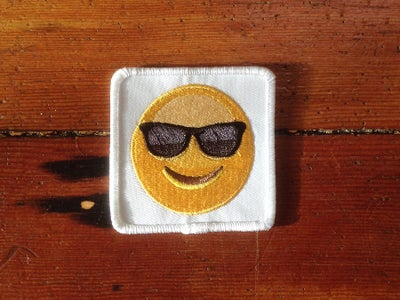 Image of Smiling Sunglasses Face