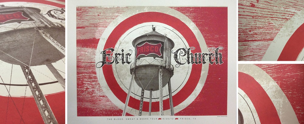 Image of Eric Church, Frisco, TX