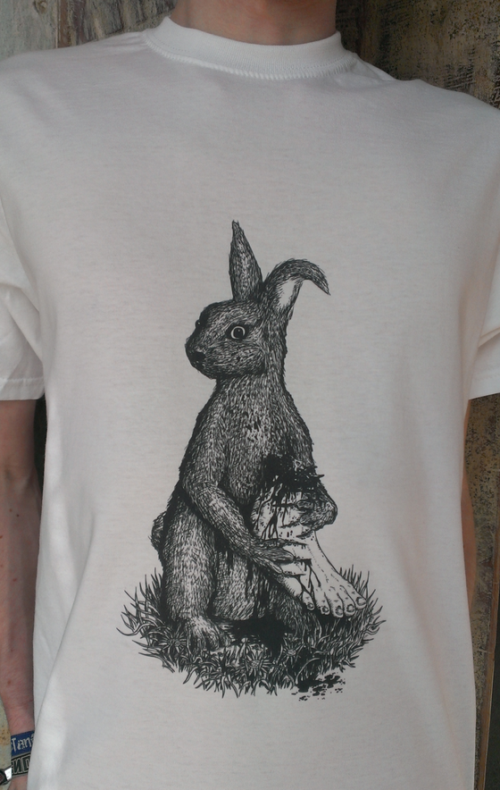 "Image of ""Lucky Rabbit"" T-shirt"