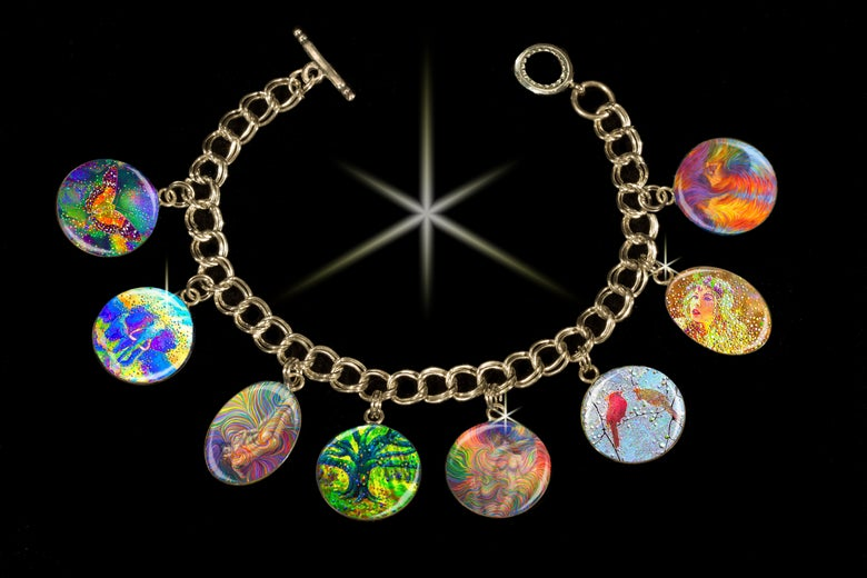 Image of Soulmate - Positive Relationship Charm Bracelet.  Use discount code LOVE60 to get $60 off this item.