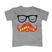 Image of KIDS - BK Mustache Gray