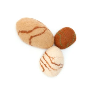 """Image of FELTED STONES 