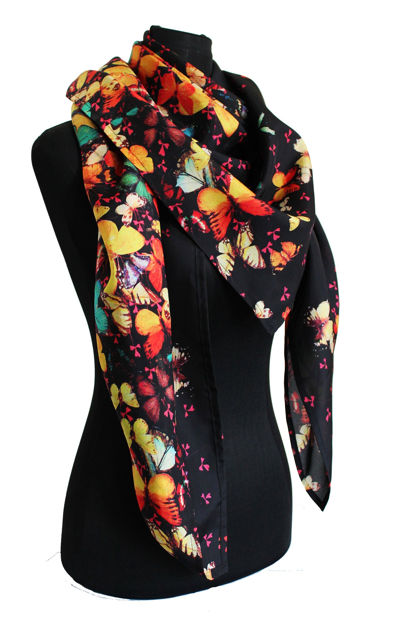 Limited Edition Lily Greenwood 100 Silk Scarf