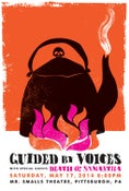 Image of Guided By Voices Silkscreen Rock Poster