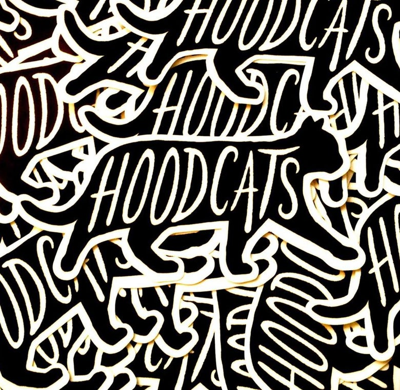 Image of Hoodcats Logo Sticker Pack