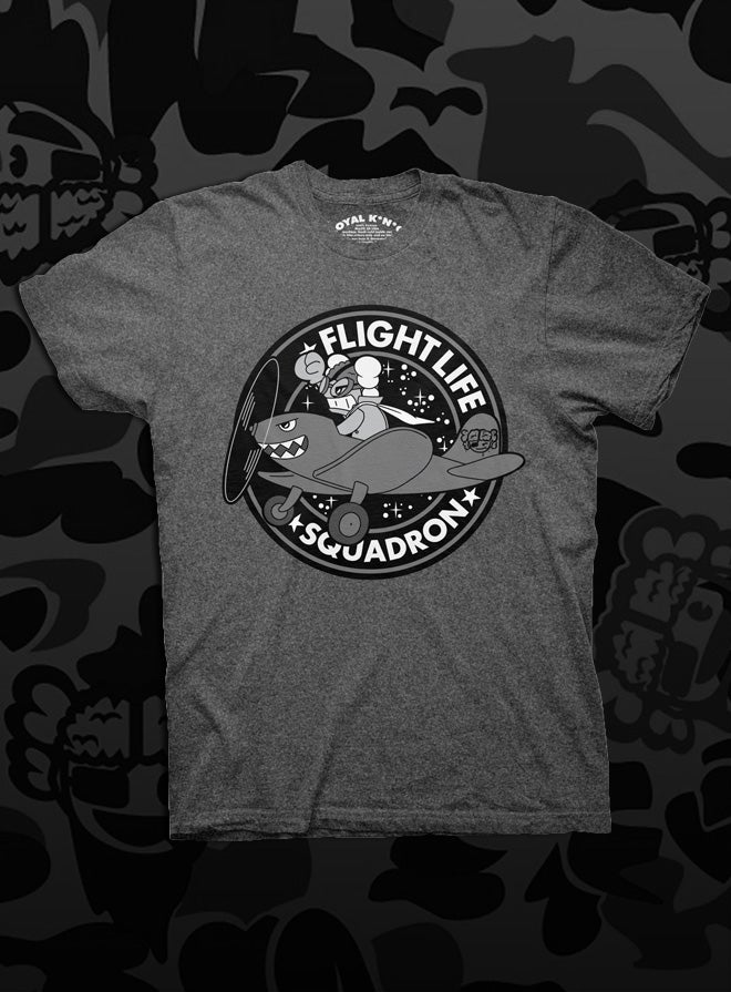 Image of Flight Life Squadron (Charcoal/Black)