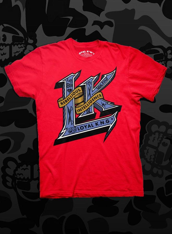 Image of Rebellious Intelligent L.K. (Red/Black/Navy)