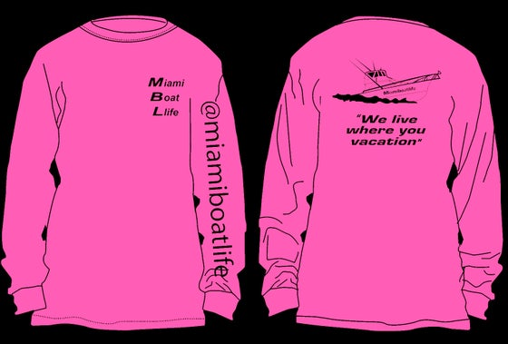 Image of Dri Fit pink long sleeve