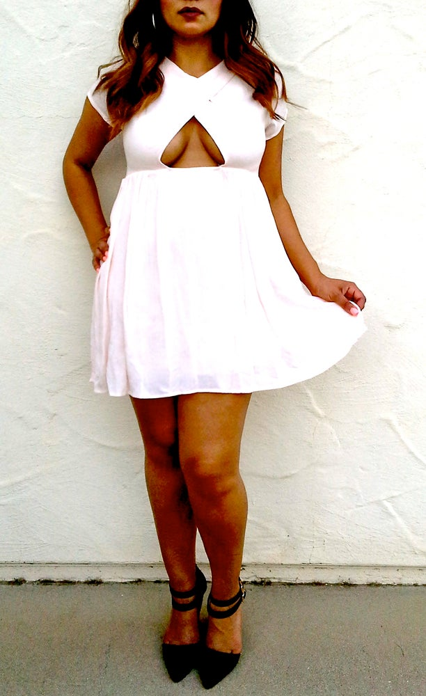 Image of Paisley Babydoll dress