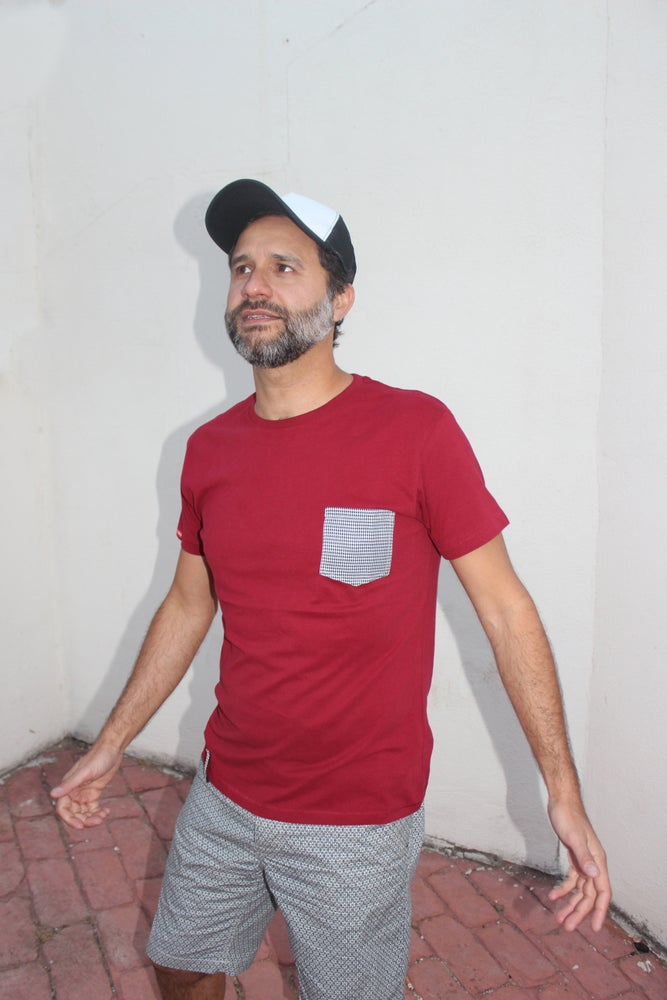 Image of Camiseta CASTIZO - Hombre - Granate