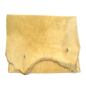 Image of double stud pouch (rustic bone)