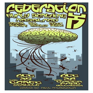 Image of Federation X gig poster