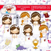 Image of First communion Girls 3