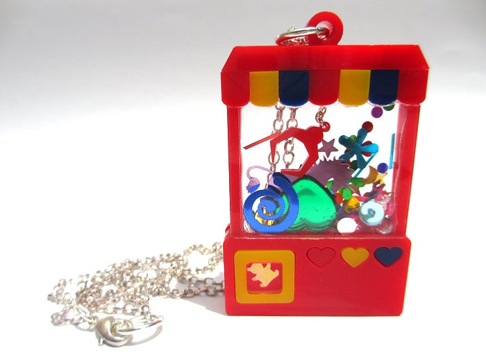 Image of Crane Game necklace