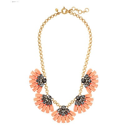 Image of Daisy Petal Poppy Statement Necklace