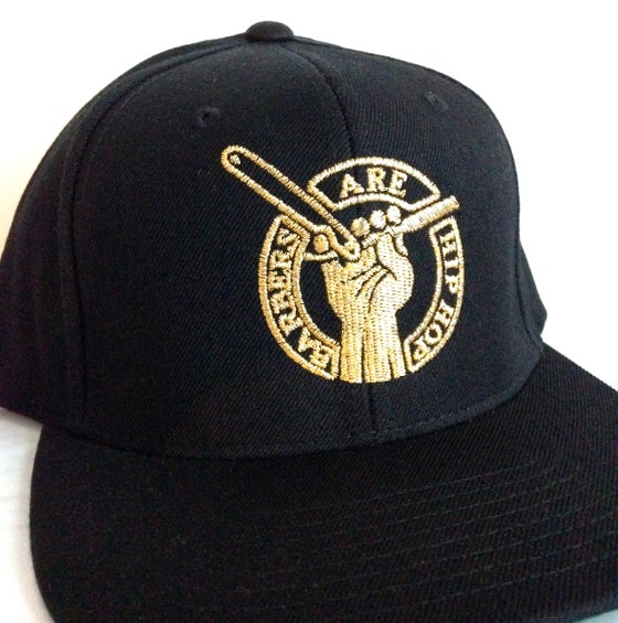 Image of Gold & Black Barbers Are Hip Hop Snapback